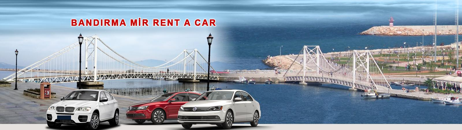bandirma rent a car